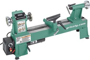 """Grizzly Industrial H8259-10"""" x 18"""" Benchtop Wood Lathe"""