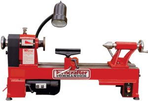 """PSI woodworking KWL-1018VS turn crafter commander 10"""" variable speed midi lathe"""
