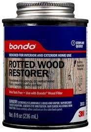 Bondo Rotted Wood Restorer 3M 20131