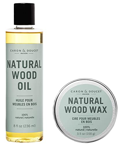 Caron & Doucet - Natural Wood Conditioning Oil and Wax