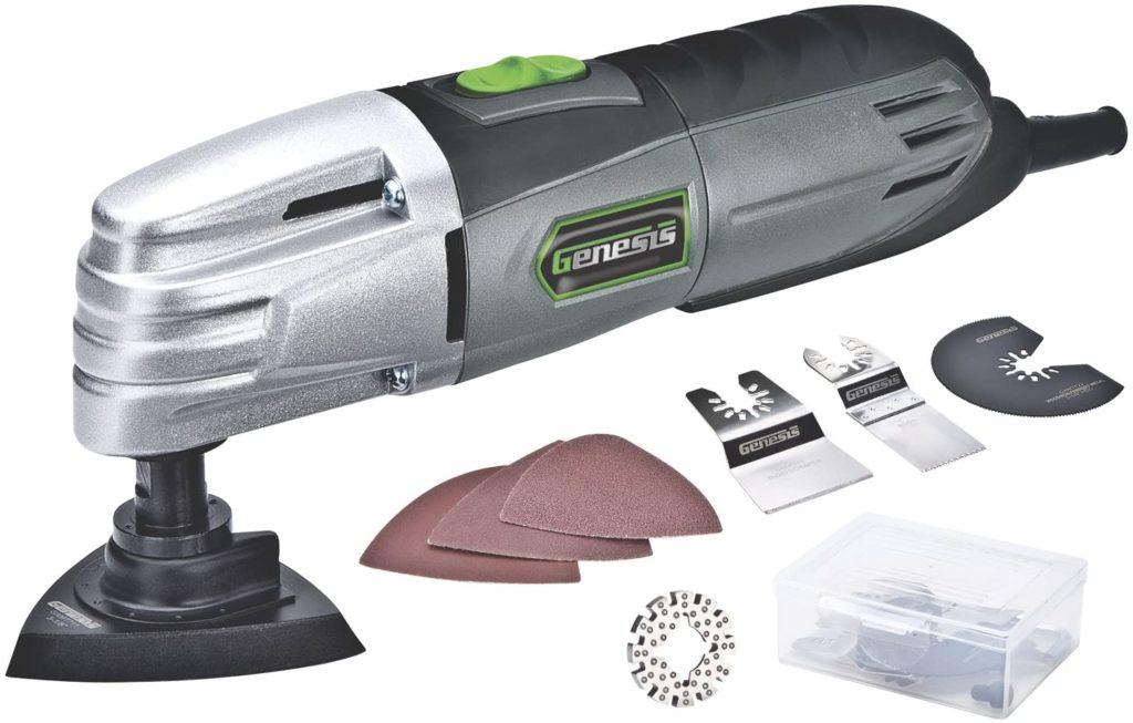 Genesis GMT15A Detail Sander & Multi-Tool