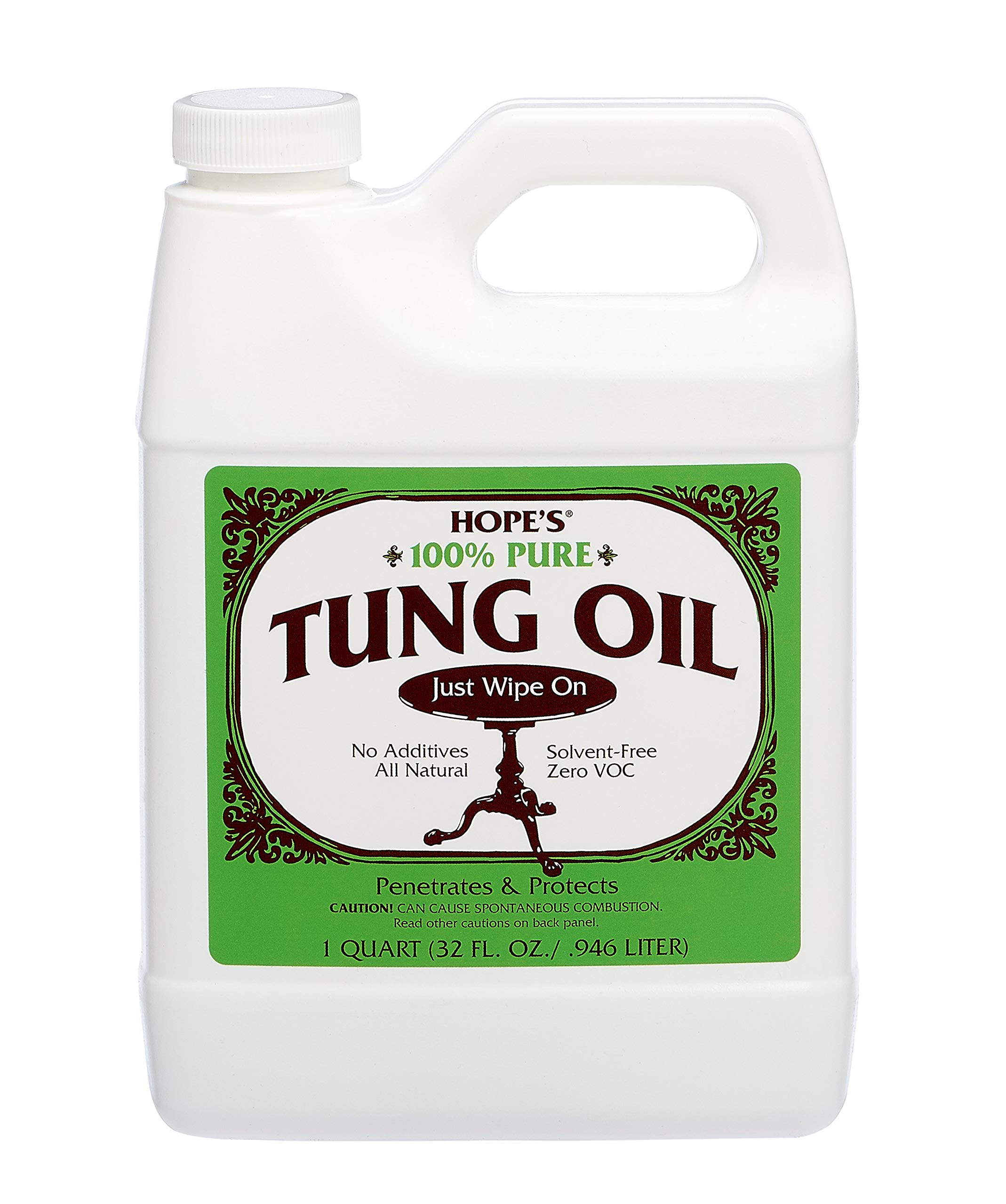 Hope's Pure Tung Oil All Fine Woods