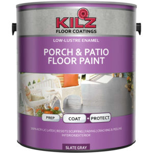 KILZ Interior/Exterior Enamel Porch & Patio Latex Floor Paint