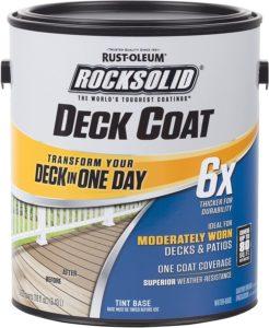 Rust-Oleum 319668 RockSolid 6X Deck Coat
