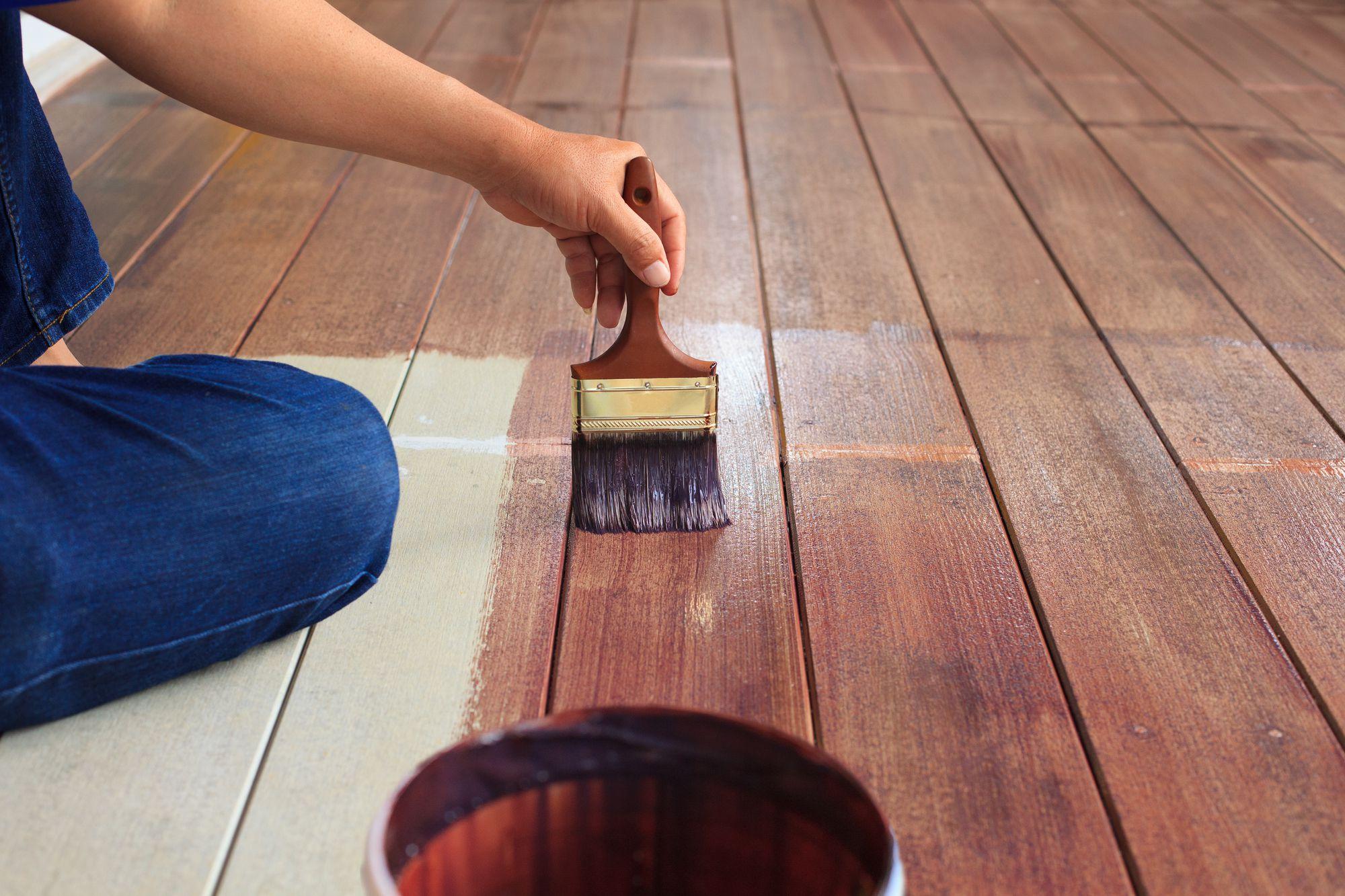 best wood floor paint