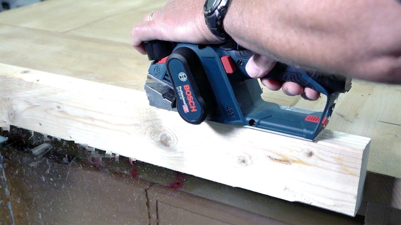 cordless wood planer