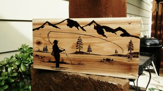 wood burning designs