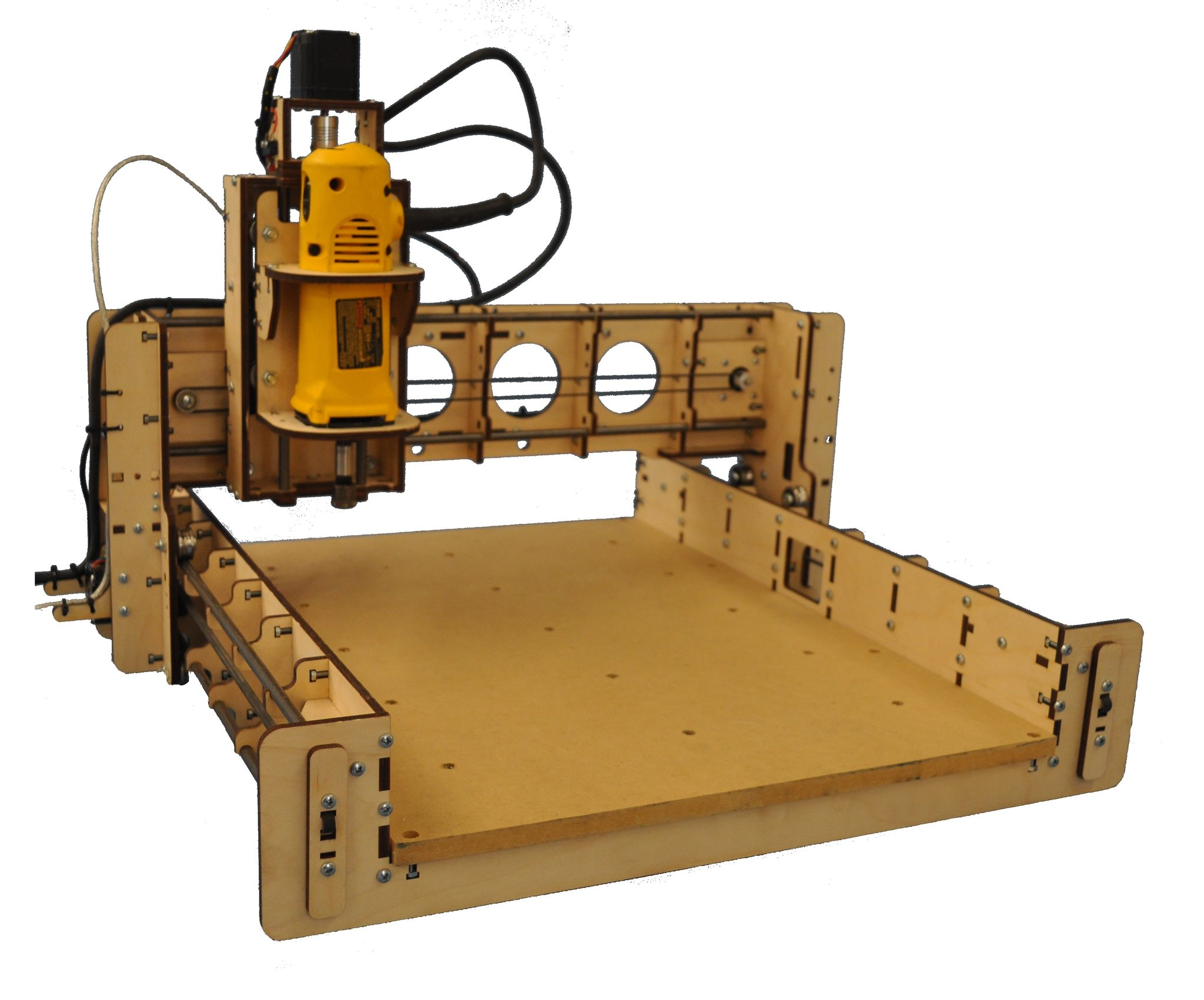 BobsCNC Evolution 3 CNC Router Kit with the Router Included