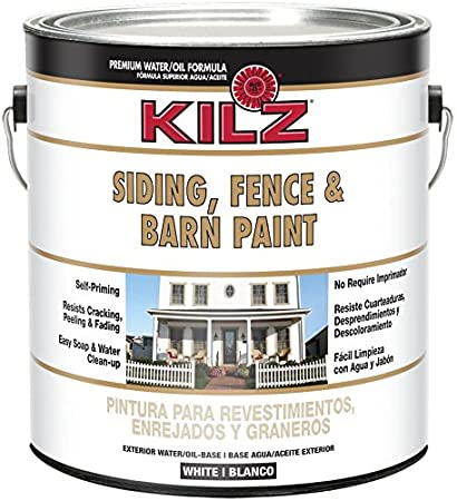 KILZ Exterior Siding, Fence, and Barn Paint