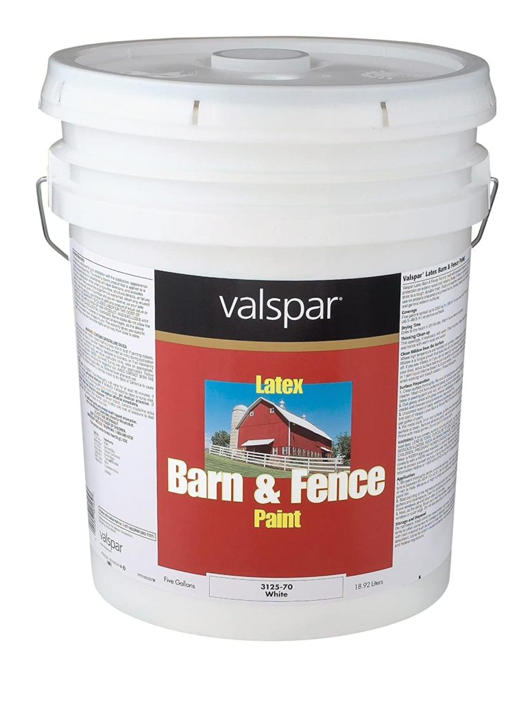 Valspar 3125 70 Barn and Fence Latex Paint