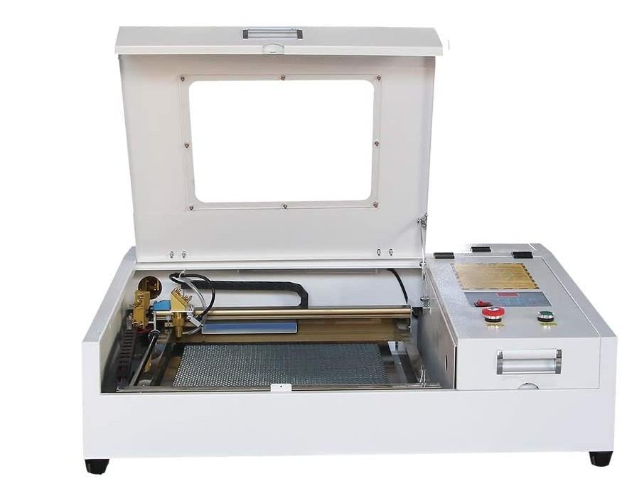 JIN ZHI YIN 50W Co2 Laser 4040 Laser Engraving Machine