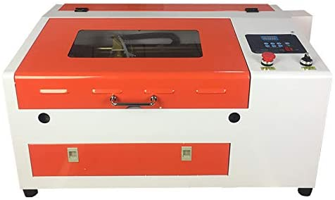JIN ZHI YIN Laser Engraving Cutting Machine 300x400mm M2 System 50W CO2 Laser Engraver