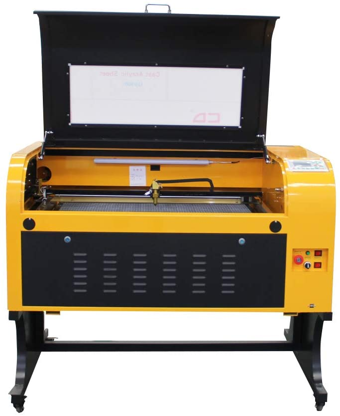 TEN-HIGH Laser Cutter Engraving Machine 100W 900x600mm CO2 Laser Cutting Machine,Offline Version