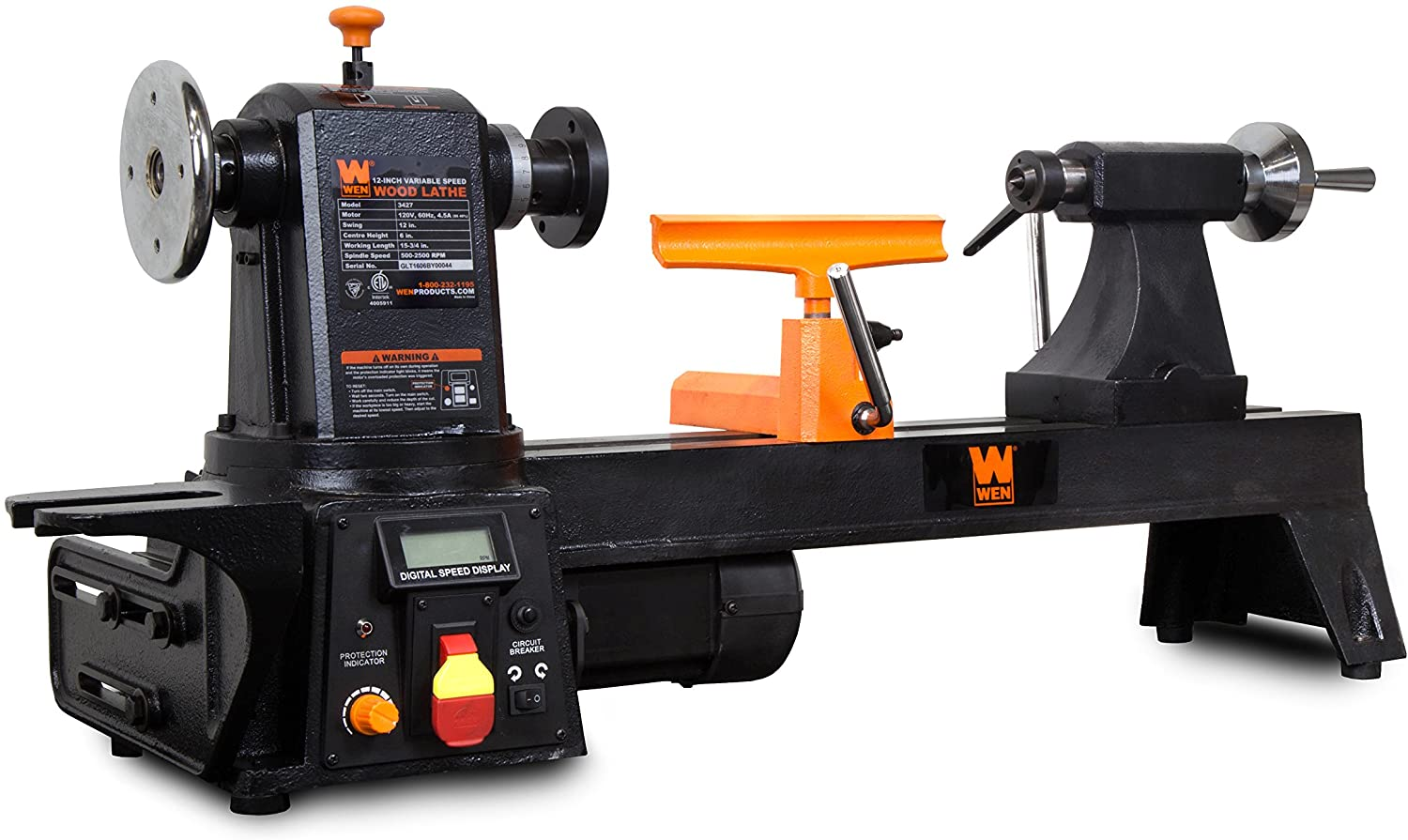 WEN 34027 12-Inch by 16-Inch Variable Speed