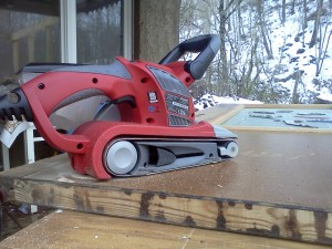 Einhell TC-BC 8038 800 W Belt Sander Electronic Speed Control Complete with Dust Bag