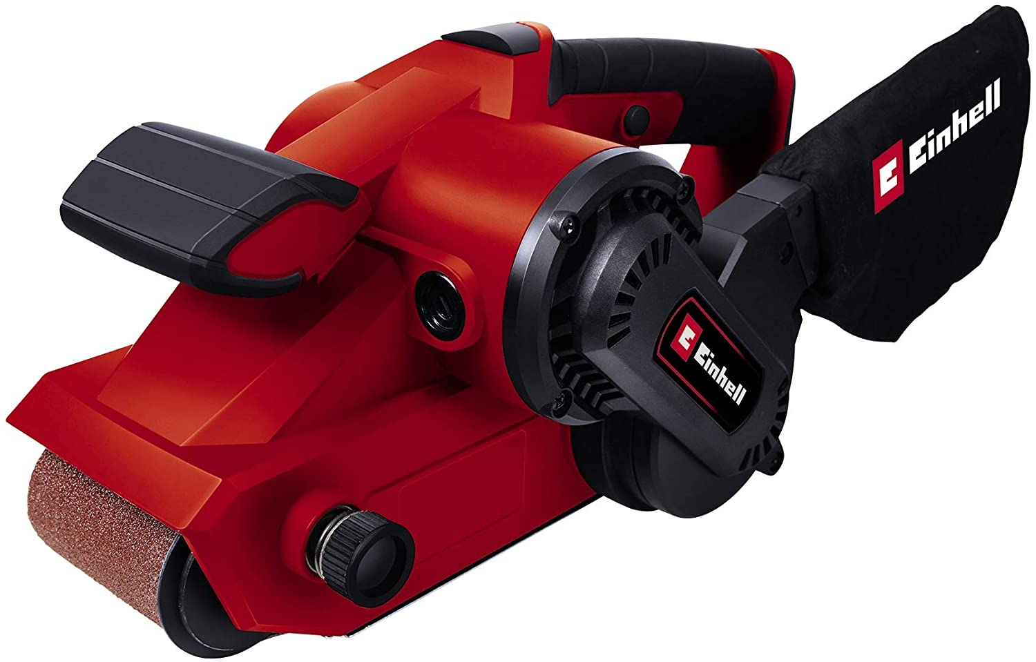 Einhell TC-BC 8038 800 W Belt Sander with Electronic Speed Control Complete with Dust Bag
