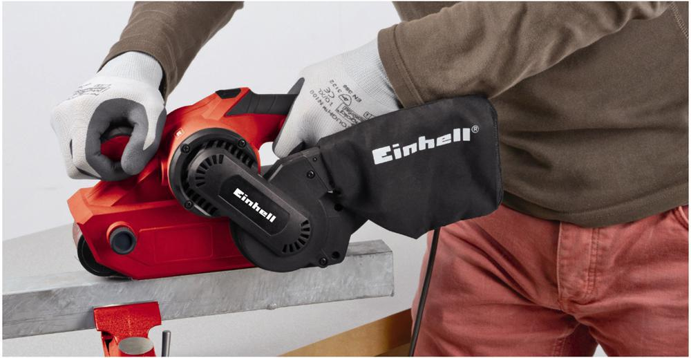 Einhell TC-BC 8038 800 W Belt Sanders with Electronic Speed Control Complete with Dust Bag