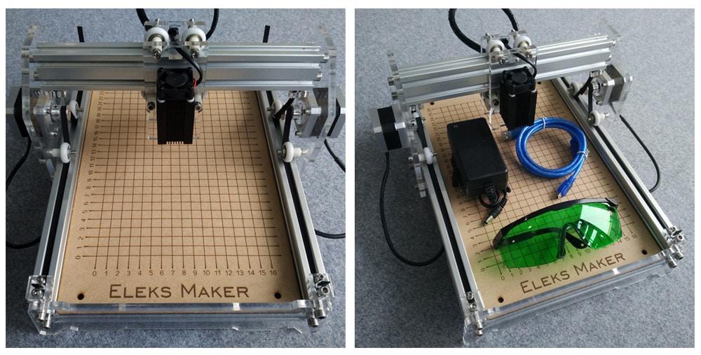 Laser Engraver 20W A5, Laser Engraver cutter CNC 5000mw