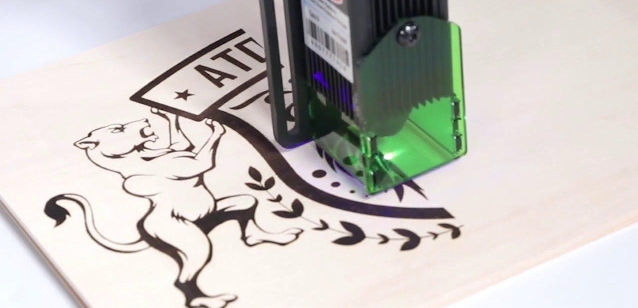 Laser Engraver 20W A5, Laser Engraving Cutting Machine CNC 5000mw