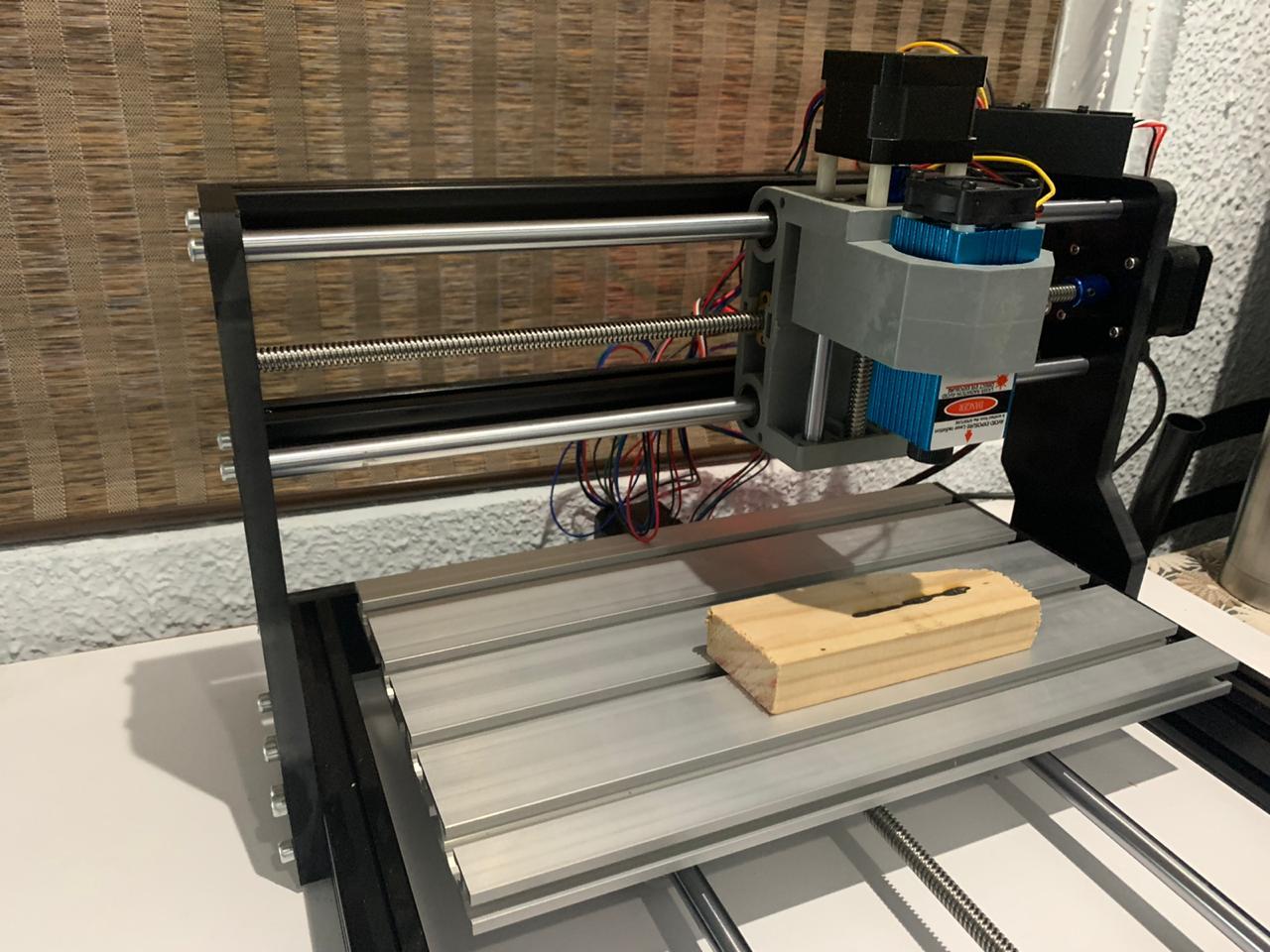 MYSWEETY 2 CNC 3018Pro laser cutter engraver