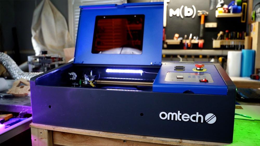 OMTech 40W CO2 Laser Engraver Cutter K40 Laser Engraving Machine