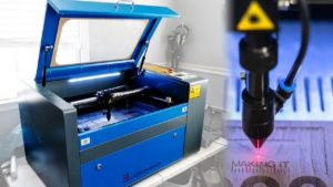 OMTech 60W CO2 Laser Engraver and Cutter
