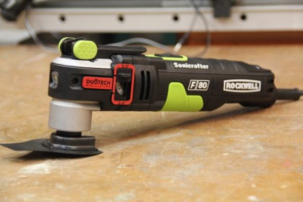 Rockwell RK5142K 4.0 Amp Sonicrafter F50 Oscillating Multi-Tool, with Variable Speed