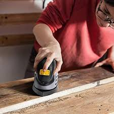 Detail Mouse Sander - JELLAS Compact Sander Machine for Wood, 13,000 RPM Sanders with Dust Collection, 220W