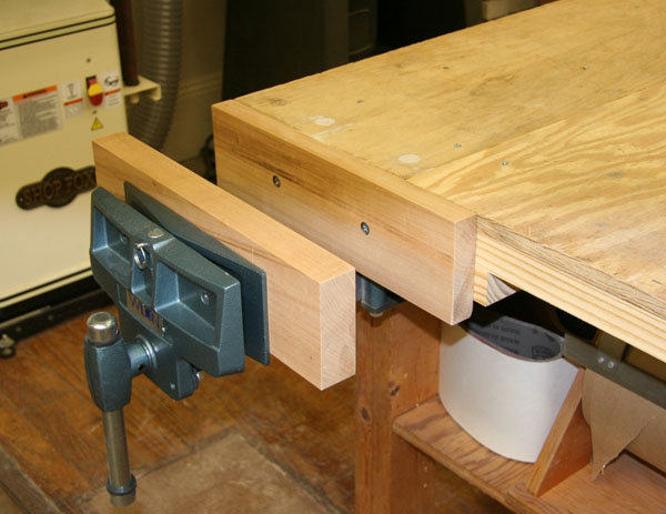 woodworking vise types